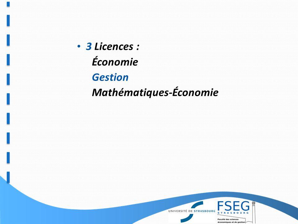 2000 Étudiants: De la Licence au Master Master en formation initiale et continue DU Spécialisés Doctorat