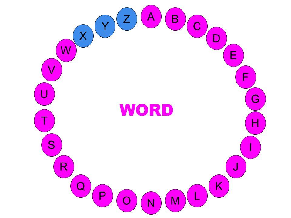 M A G S C U H W Y I F D B L K J T R Q P O N E V Z Programme informatique permettant de faire du traitement de texte.
