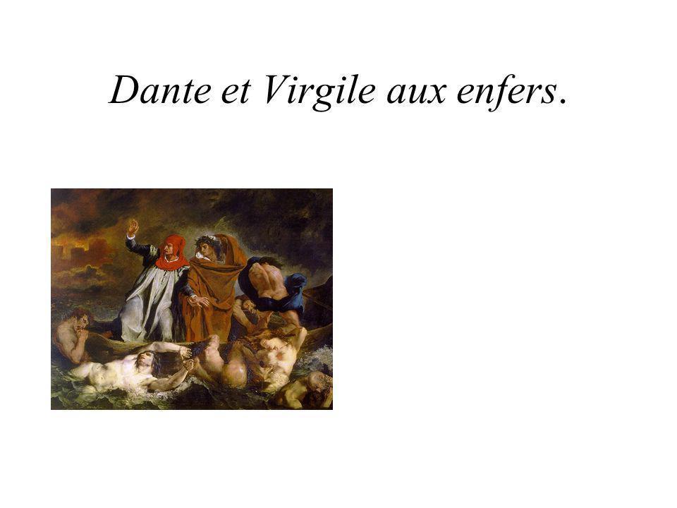 Dante et Virgile aux enfers.