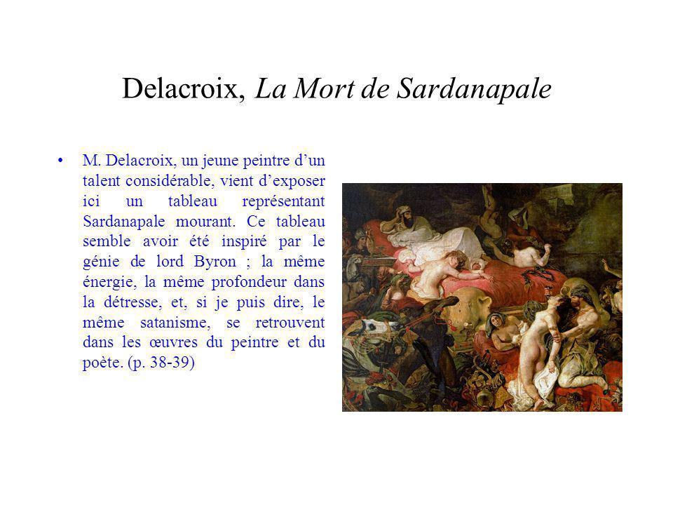 Delacroix, La Mort de Sardanapale M.