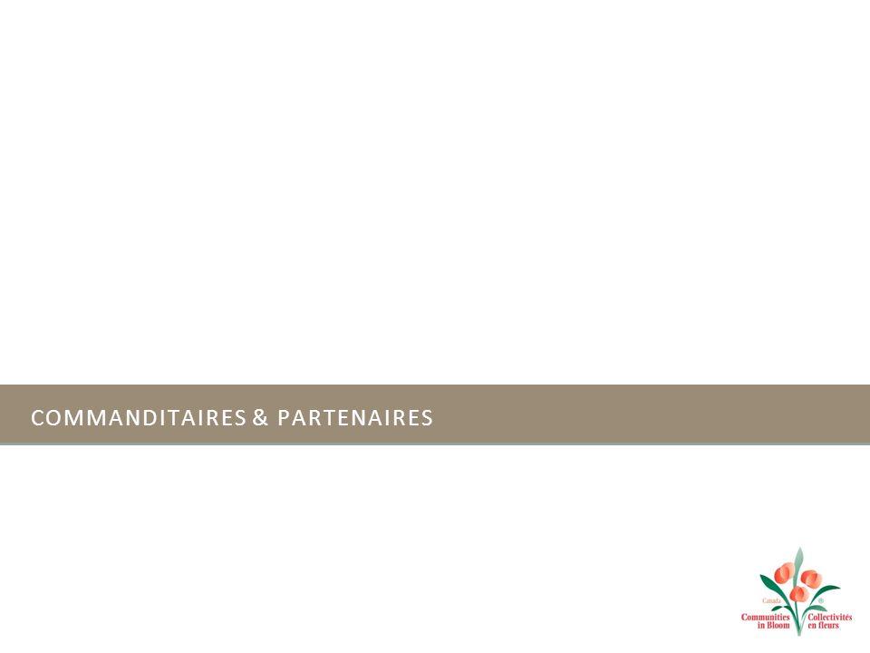 COMMANDITAIRES & PARTENAIRES