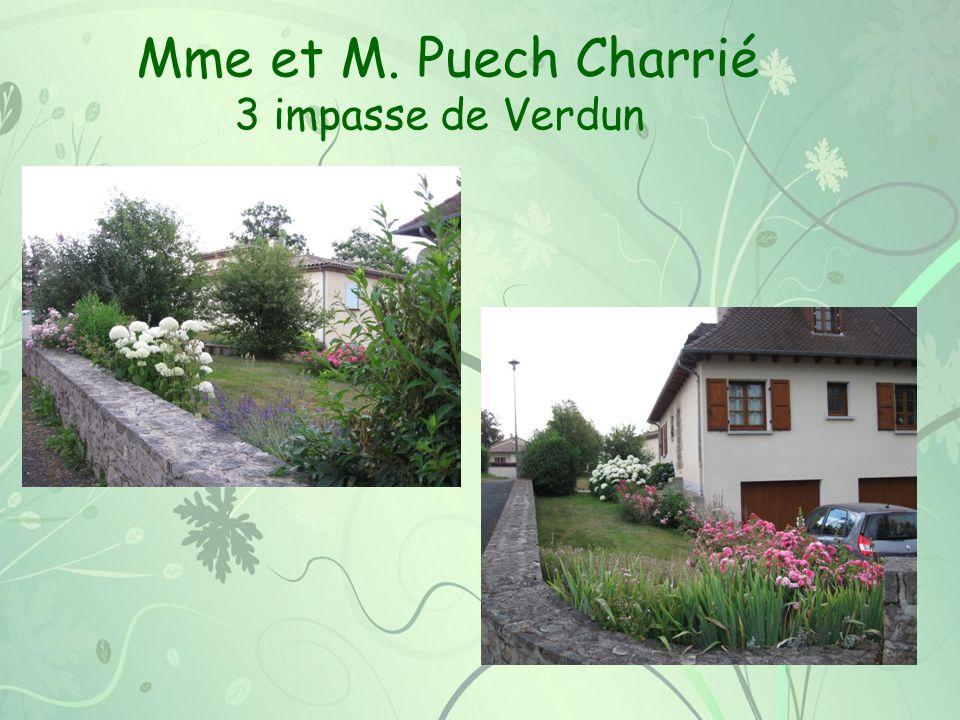 Mme et M. Puech Charrié 3 impasse de Verdun