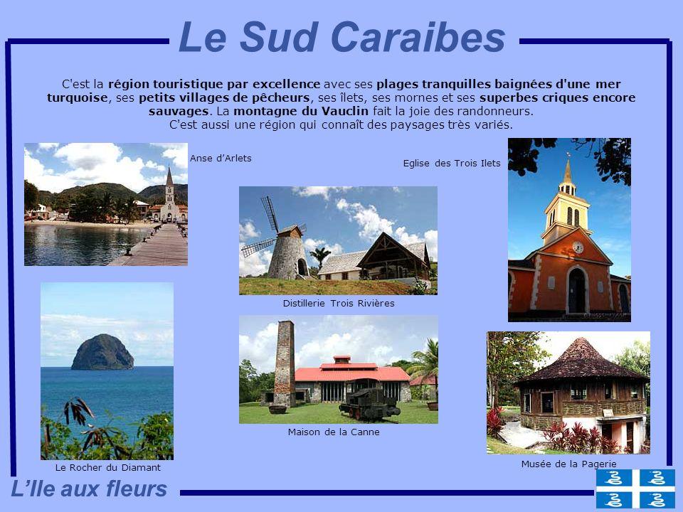 C'est la région touristique par excellence avec ses plages tranquilles baignées d'une mer turquoise, ses petits villages de pêcheurs, ses îlets, ses m