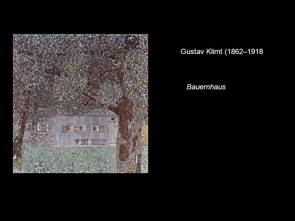 Gustav Klimt (1862–1918 Bauernhaus