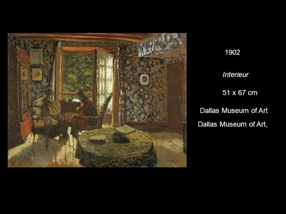 Interieur 1902 51 x 67 cm Dallas Museum of Art Dallas Museum of Art,