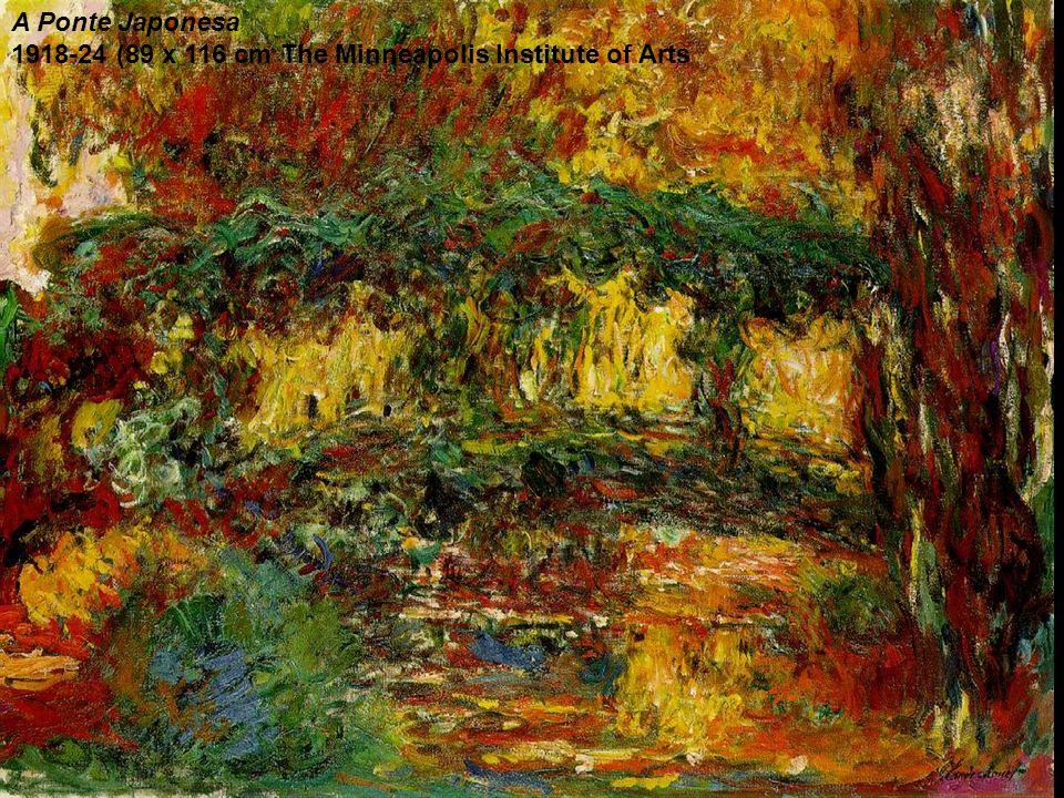 A Ponte Japonesa 1918-24 (89 x 116 cm The Minneapolis Institute of Arts
