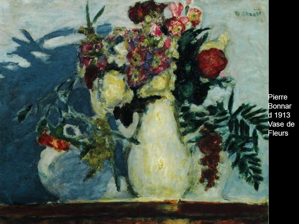 Pierre Bonnar d 1913 Vase de Fleurs