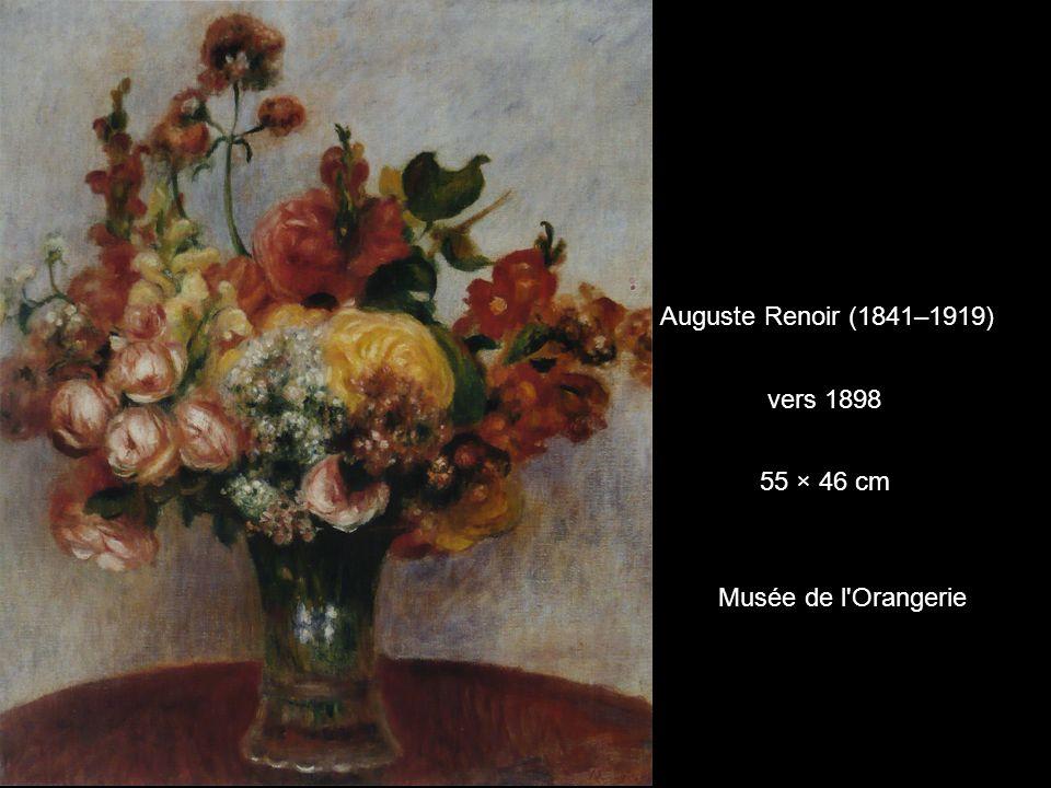 Auguste Renoir (1841–1919) vers 1898 55 × 46 cm Musée de l'Orangerie