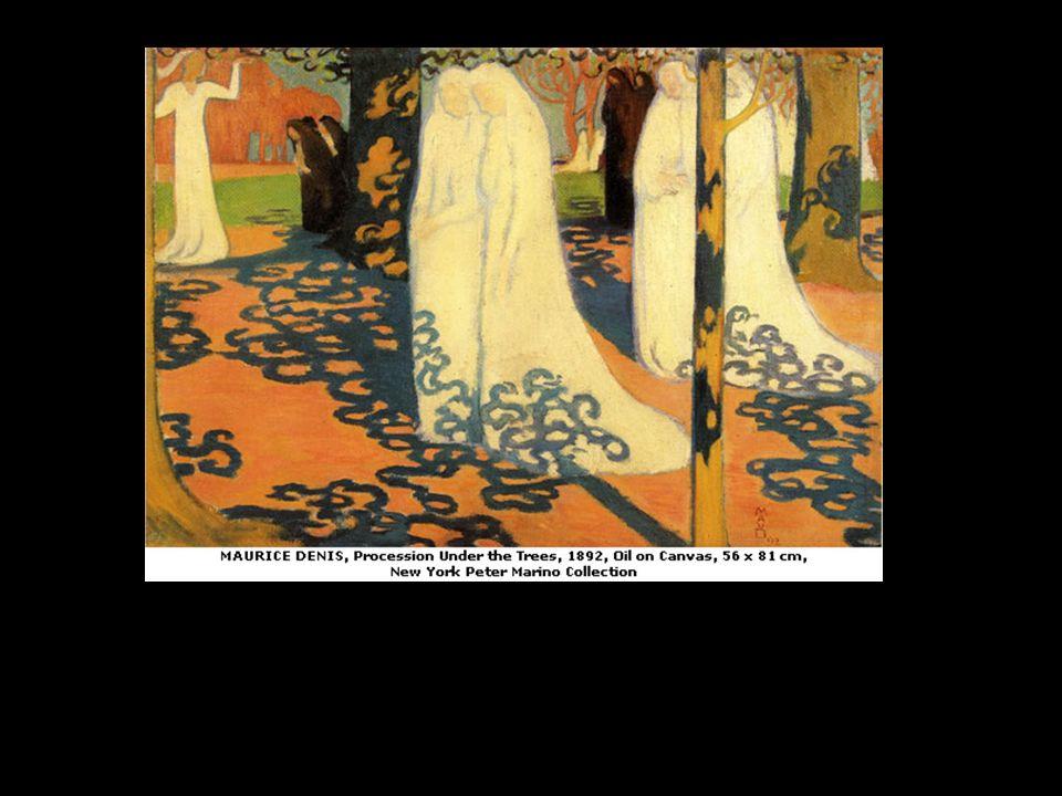 Jardin à lÉtang-la-Ville, Édouard Vuillard, vers 1908, peinture à la colle sur carton, 53,5 x 52 cm.