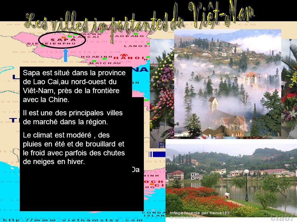 Da Lat exerce une attraction touristique important grâce à ses paysages: chutes deau, lacs. Da Lat est une ville de montagne romantique. Da Lat est la