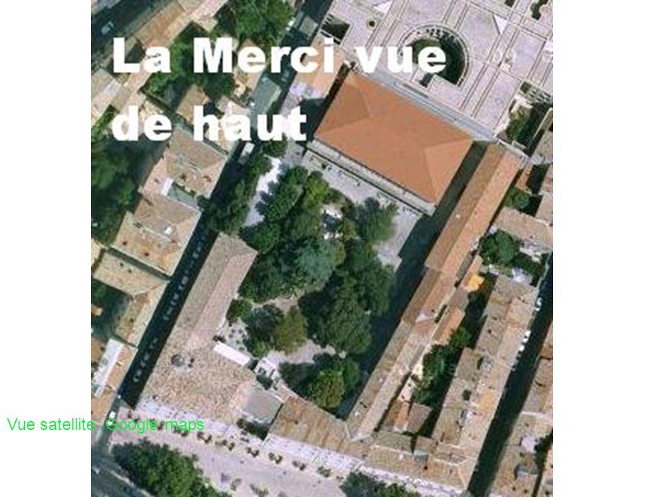 Vue satellite Google maps