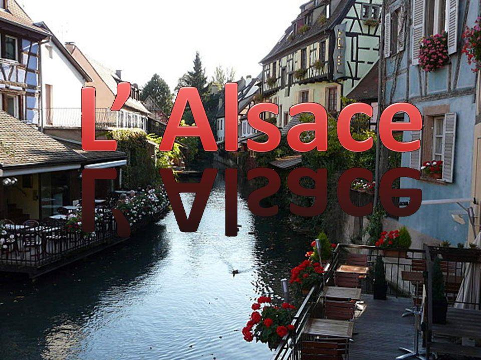 LAlsace se trouve à lEst de la France et à la frontière de lAllemagne. Suisse Allemagne Lalsace