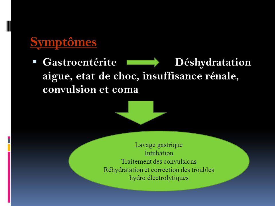 Toxicité La ricine empêche la synthèse des protéines plus complexes dans la paroi intestinale, ce qui à son tour cause des dommages au système digesti