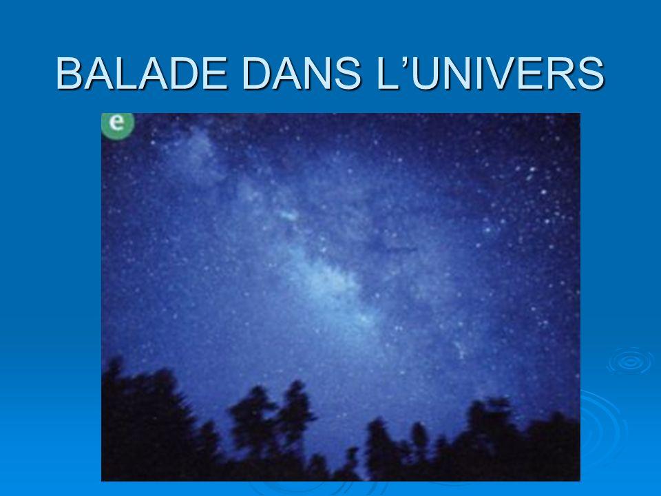 BALADE DANS LUNIVERS Un amas de galaxies