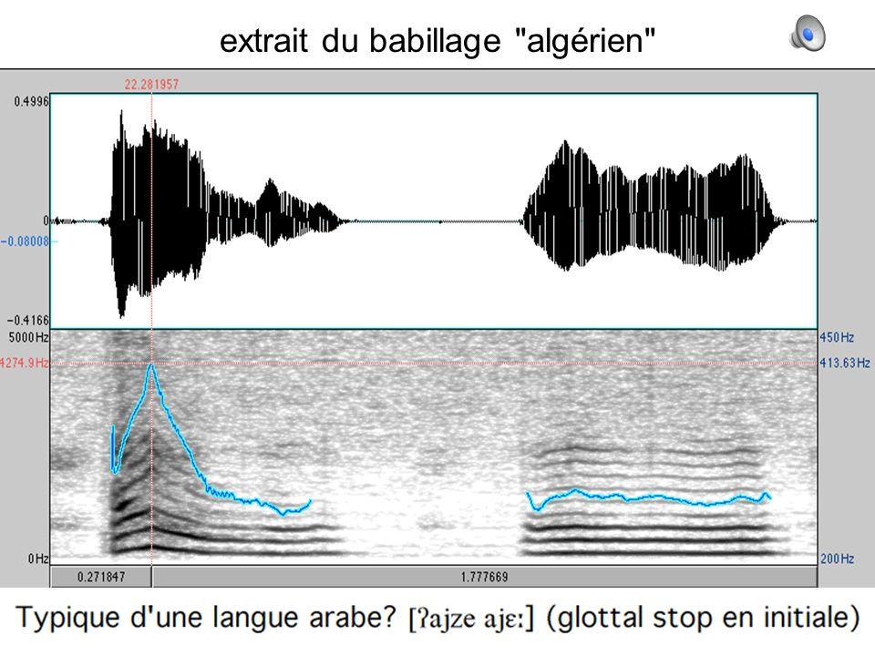8 extrait du babillage algérien