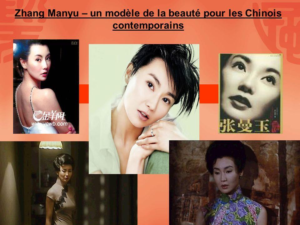 Zhang Manyu – un modèle de la beauté pour les Chinois contemporains
