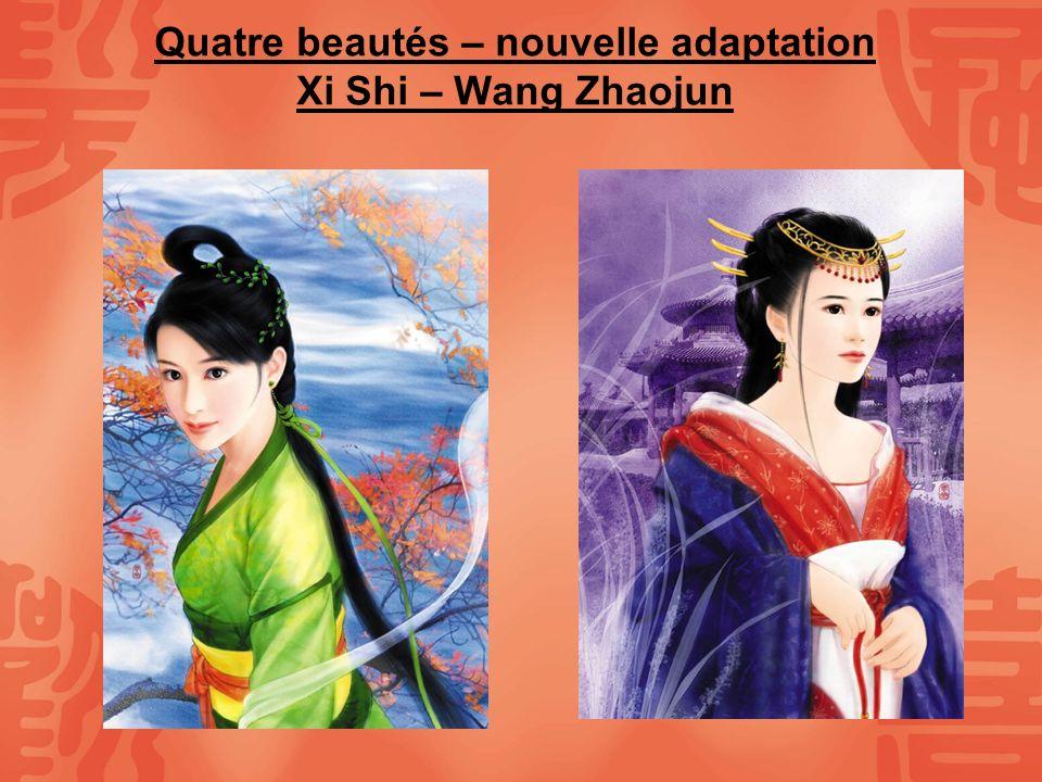 Quatre beautés – nouvelle adaptation Xi Shi – Wang Zhaojun