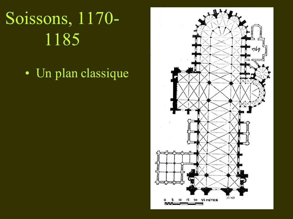 Soissons, 1170- 1185 Un plan classique