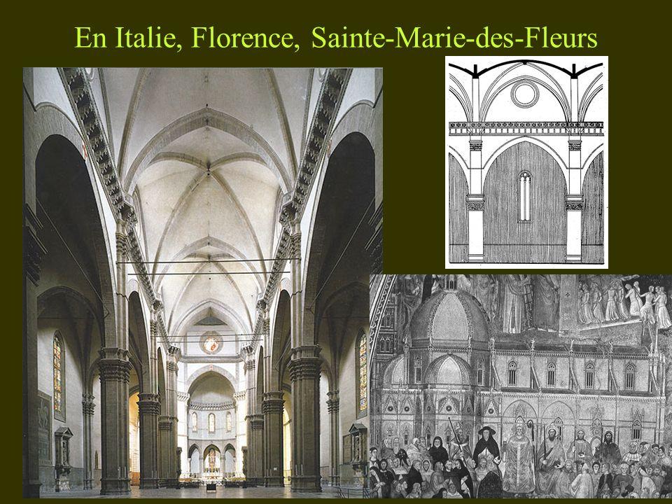 En Italie, Florence, Sainte-Marie-des-Fleurs