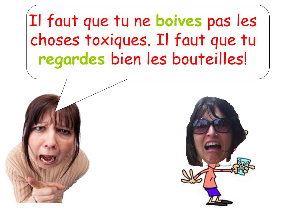 Other spell changers Prendre, tenir, venir, mourir, recevoir, devoir, boire…all have two different bases in the subjunctive (just like the indicative) They have 1 base for nous/vous and 1 base for all the other subject pronouns.