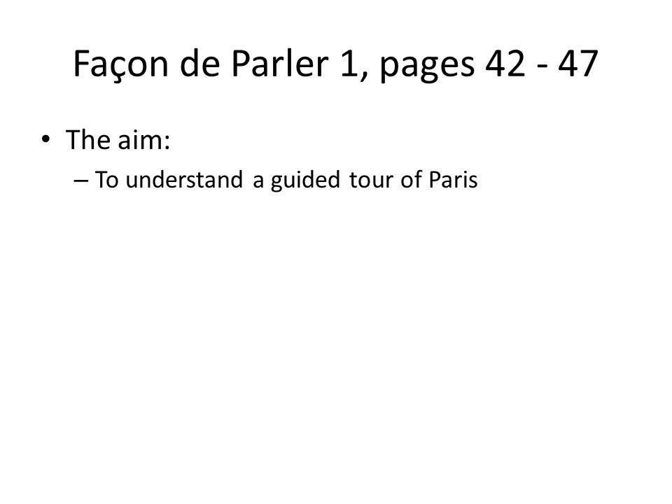 La visite de Paris Quest-ce que cest? Cest lArc de Triomphe