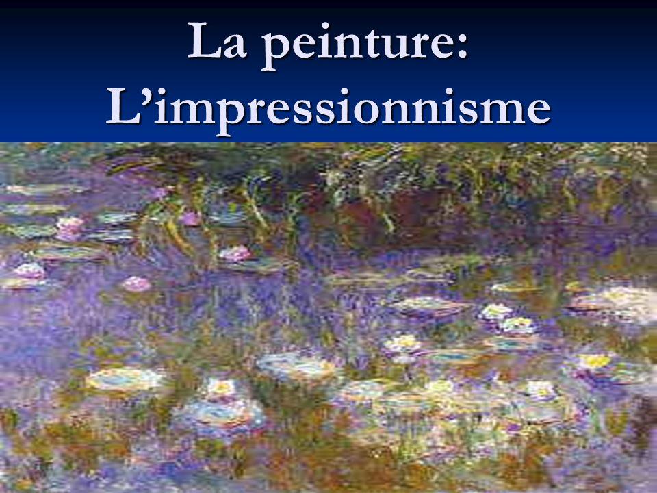La Révolution impressionniste Lart moderne est né en France dans les années 1870 Lart moderne est né en France dans les années 1870 Un groupe dartistes, appelés « les Impressionnistes » a présenté au monde une nouvelle façon de penser à la peinture.