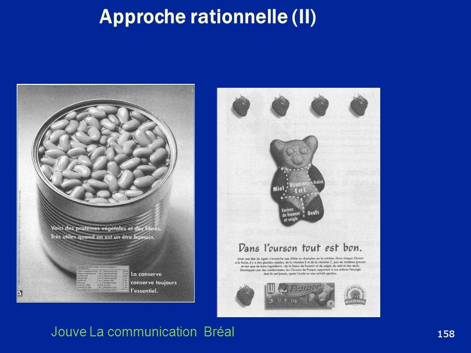 Approche rationnelle (II) 158 Jouve La communication Bréal