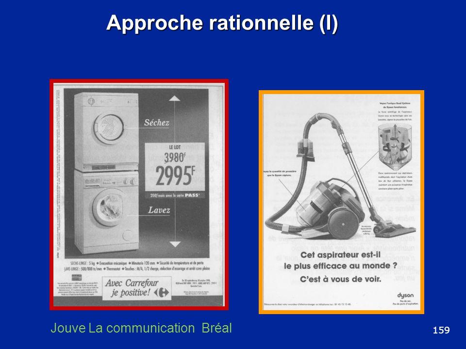 Approche rationnelle (I) 159 Jouve La communication Bréal