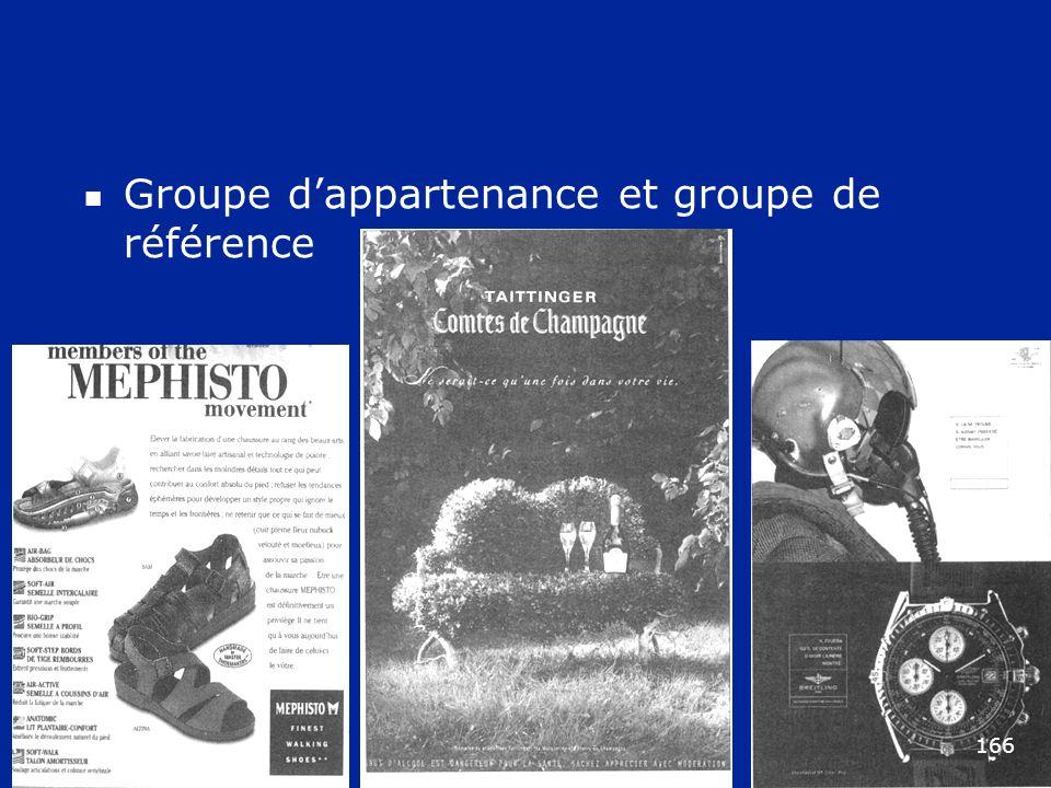 Groupe dappartenance et groupe de référence 166