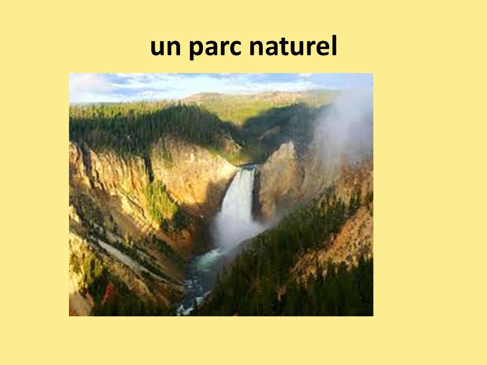 un parc naturel