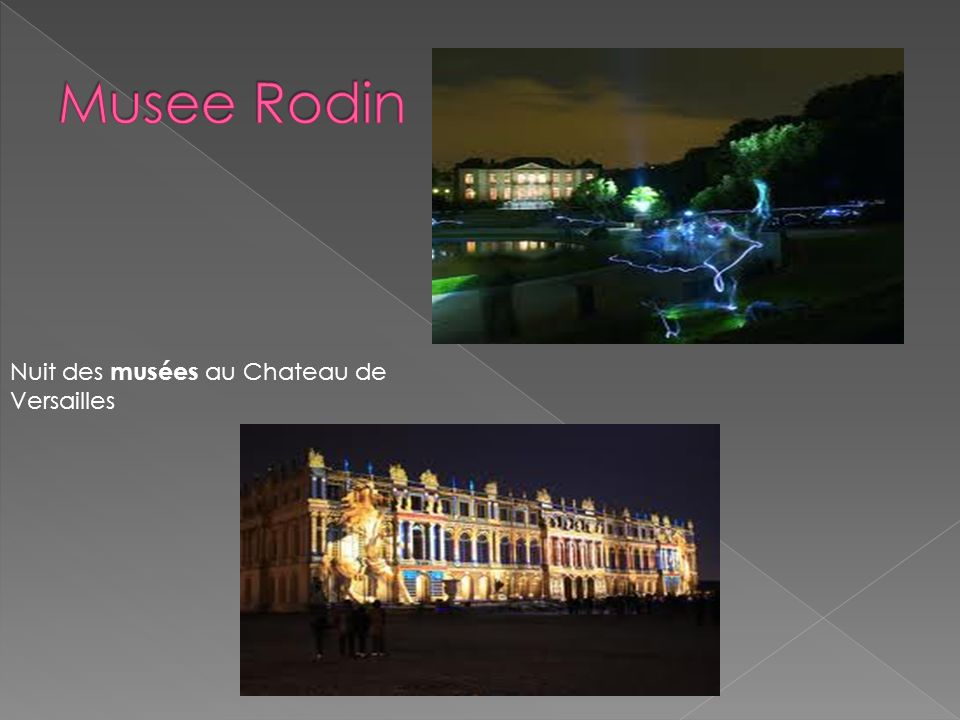 Nuit des musées au Chateau de Versailles
