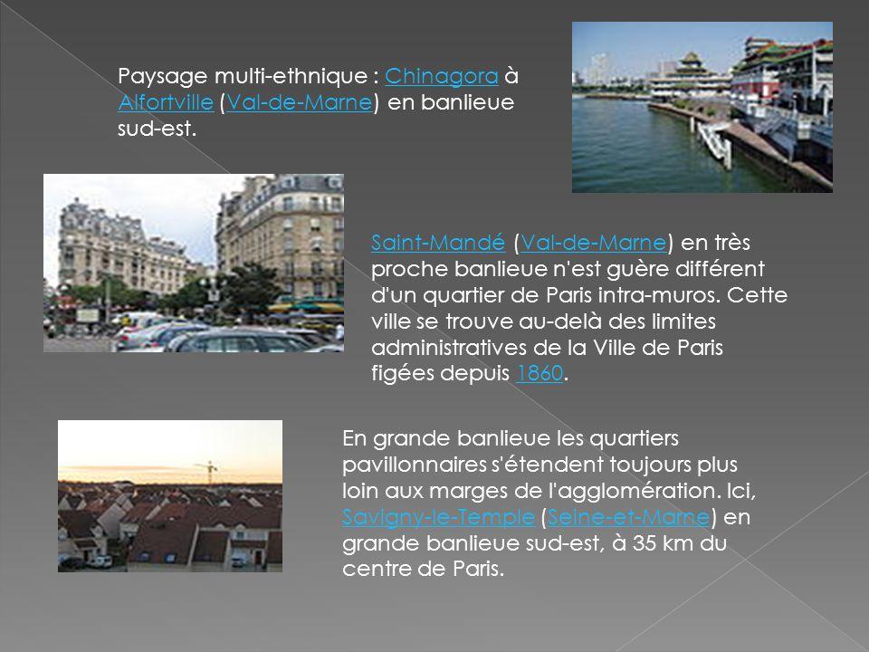 Paysage multi-ethnique : Chinagora à Alfortville (Val-de-Marne) en banlieue sud-est.Chinagora AlfortvilleVal-de-Marne Saint-MandéSaint-Mandé (Val-de-M