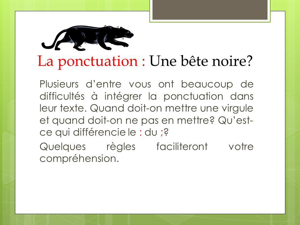 o Une apostrophe Exemple : Pierre-Luc, viens ici tout de suite.