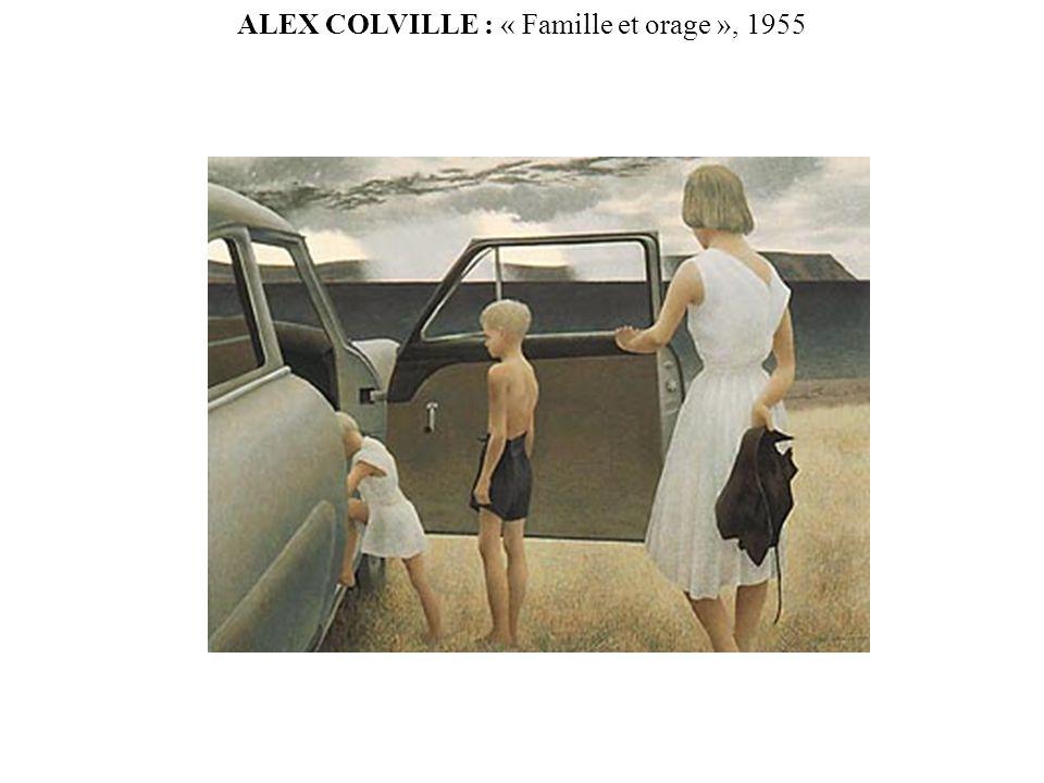 ALEX COLVILLE : « Famille et orage », 1955