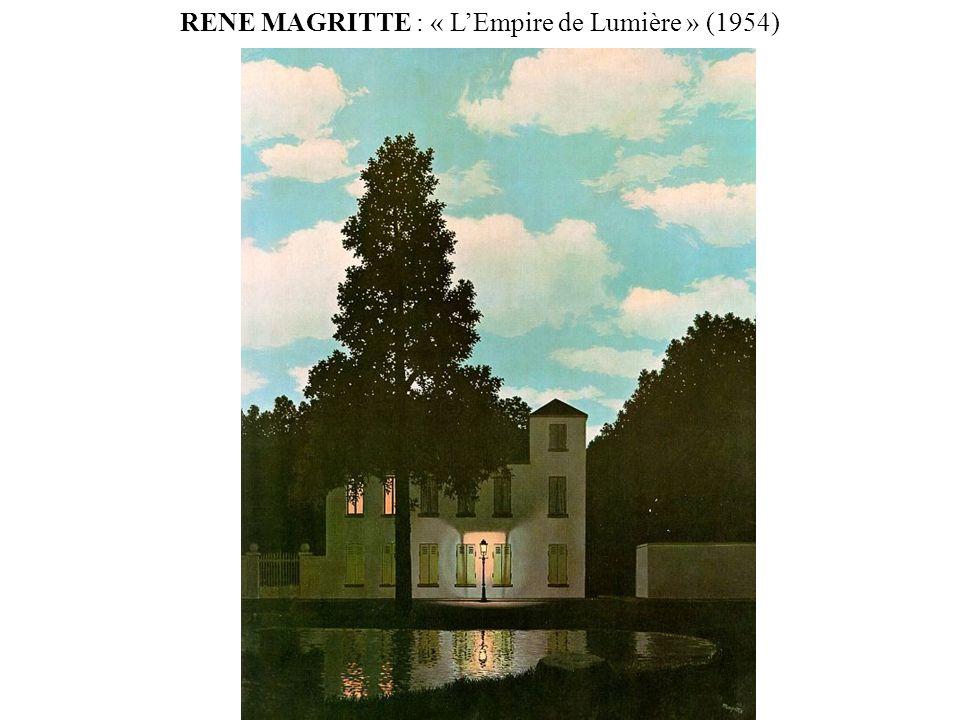 RENE MAGRITTE : « LEmpire de Lumière » (1954)