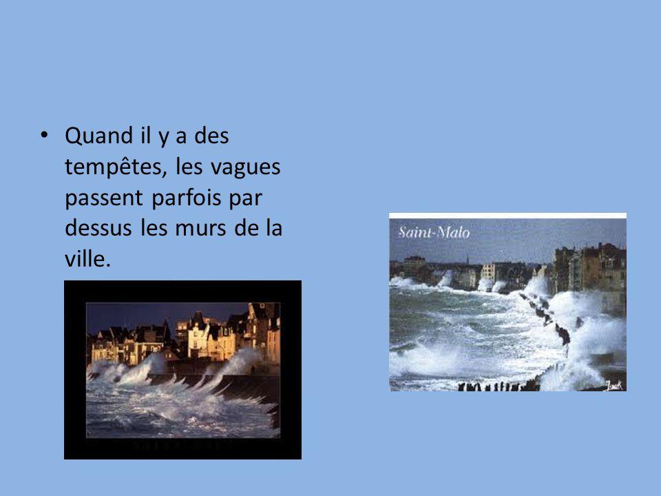 Le climat de la Bretagne est tempéré: Il ne fait pas très chaud en été… Et pas très froid en hiver!