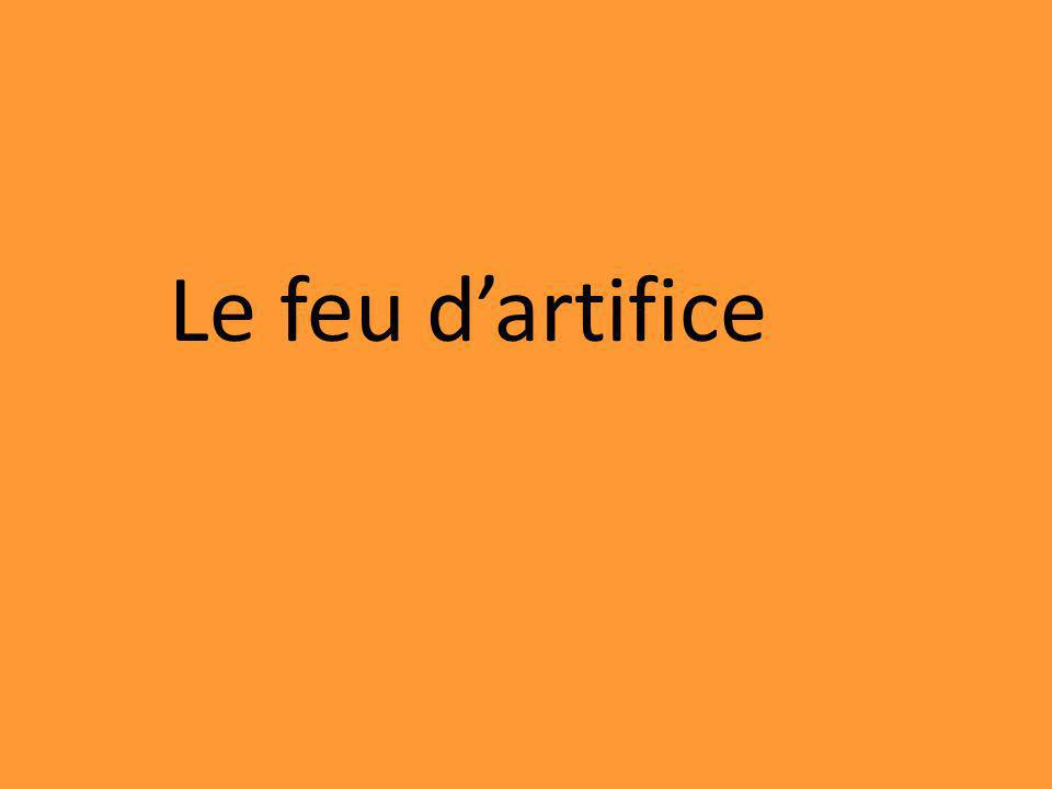 Le feu dartifice