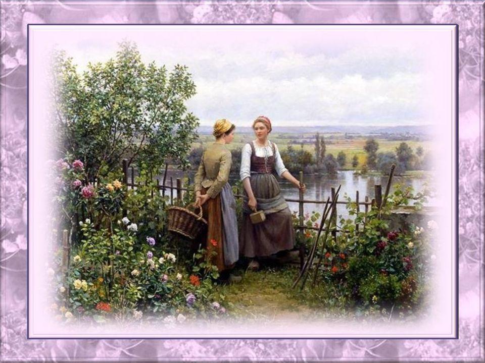 Jaime voir les fleurs bouger au gré du vent; Elles nous font vivre de jolis printemps; Je bénéficie et jaime la poésie des fleurs; Chaque pétale vient