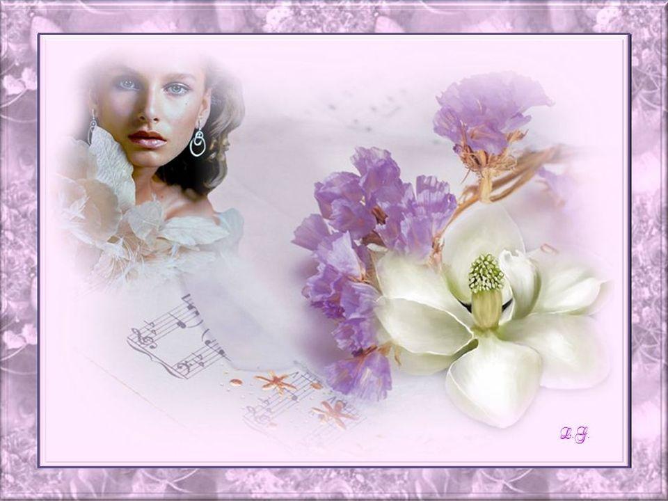 La fleur a son expression et son nom; Dans le silence, jécoute son jargon; Les fleurs naissent dans le mystère; Un beau matin elles jaillissent de la