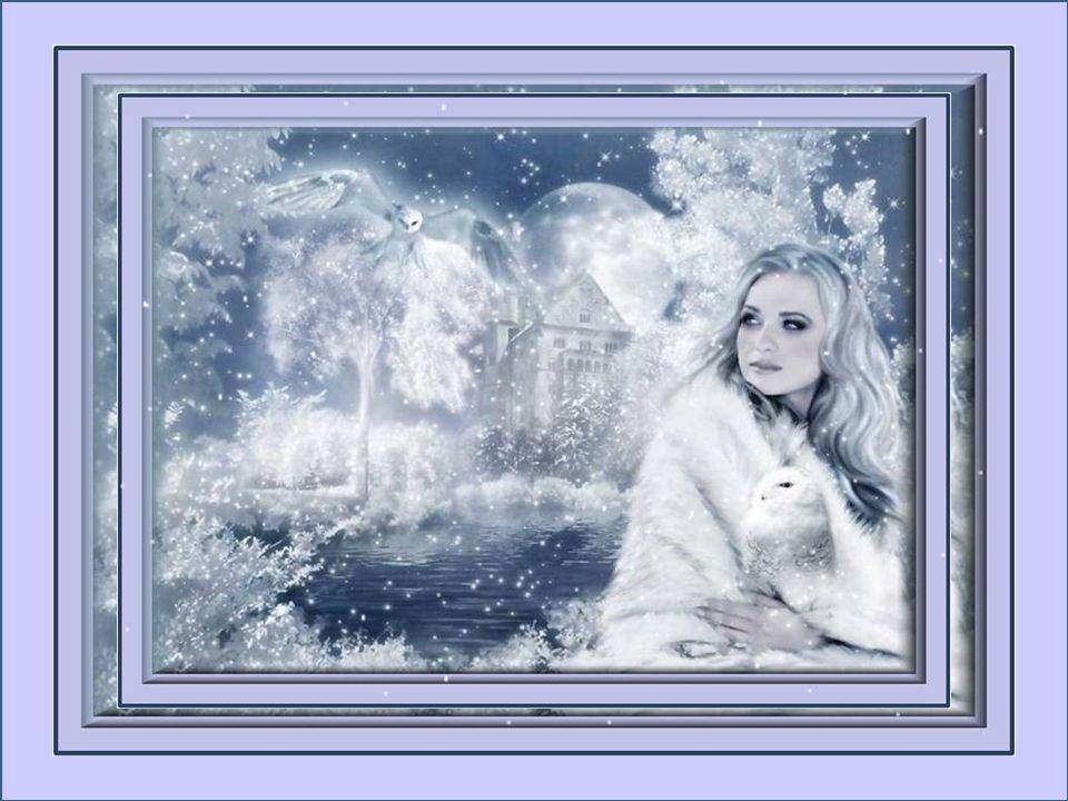 Une à une vous venez me charmer; Tantôt fragiles ou de givre glacé; Vous déposez de la lumière Dans le ciel triste de nos hivers… Ginette Talbot