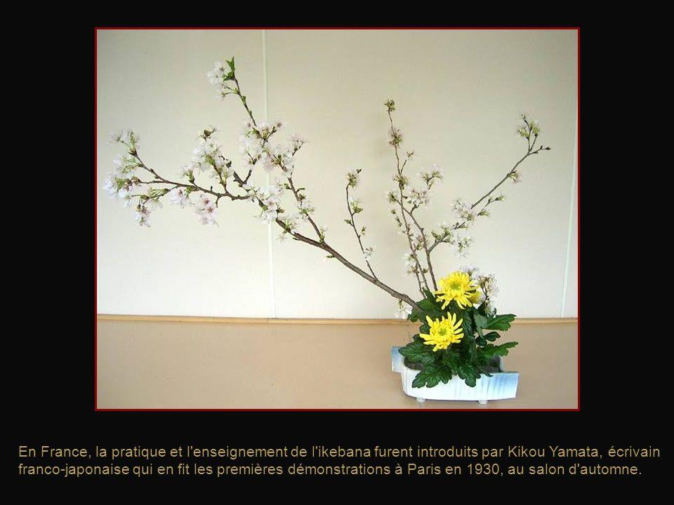 Un style d'arrangement plus sophistiqué et appelé rikka, apparut au XVe siècle. Le style du rikka reflète la splendeur de la nature et lexpose.