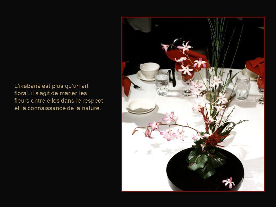 Que l'on fasse son premier ou son centième bouquet, l'émotion est la même. Car chaque branche, chaque fleur est unique.