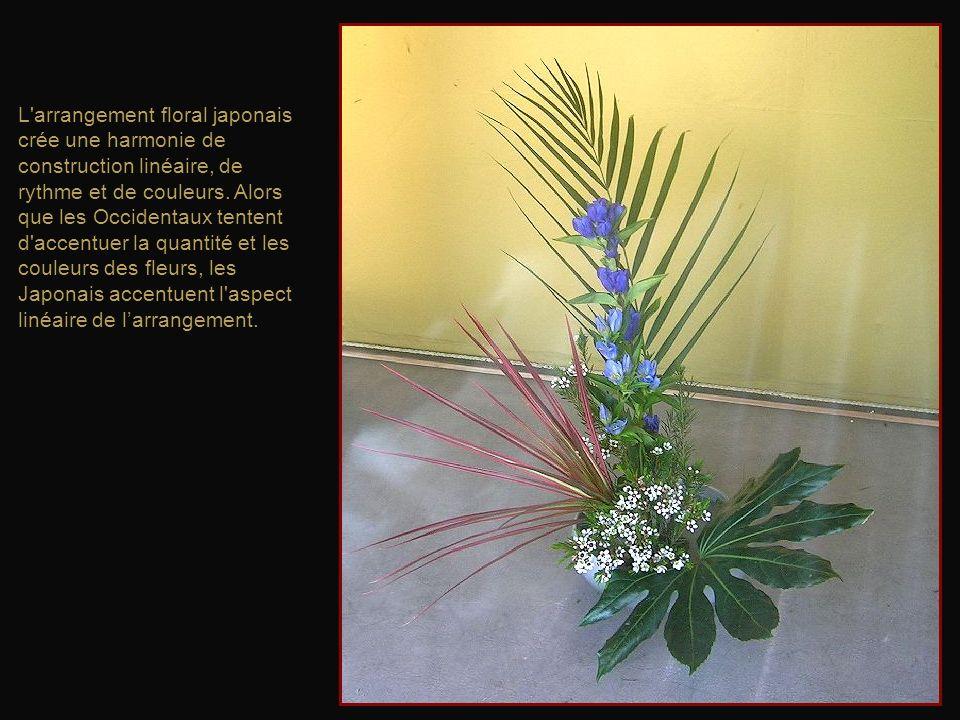 LIkebana, la Voie des fleurs, est un art traditionnel japonais basé sur la composition florale.