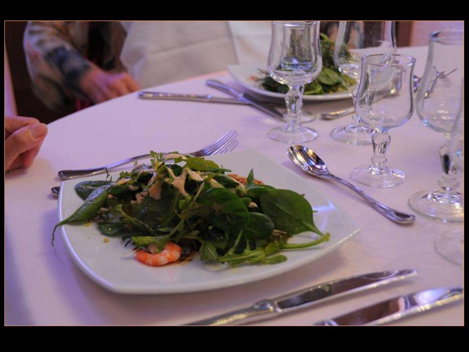Lentrée Salade fraîcheur aux fruits de mer