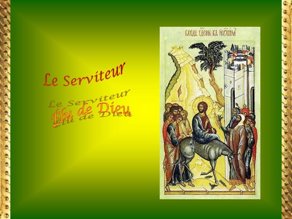 qui la fait Messie, mais elle signifie aux hommes quil était le Messie. (saint Justin) Lentrée de Jésus à Jérusalem na pas réalisé en lui la puissance