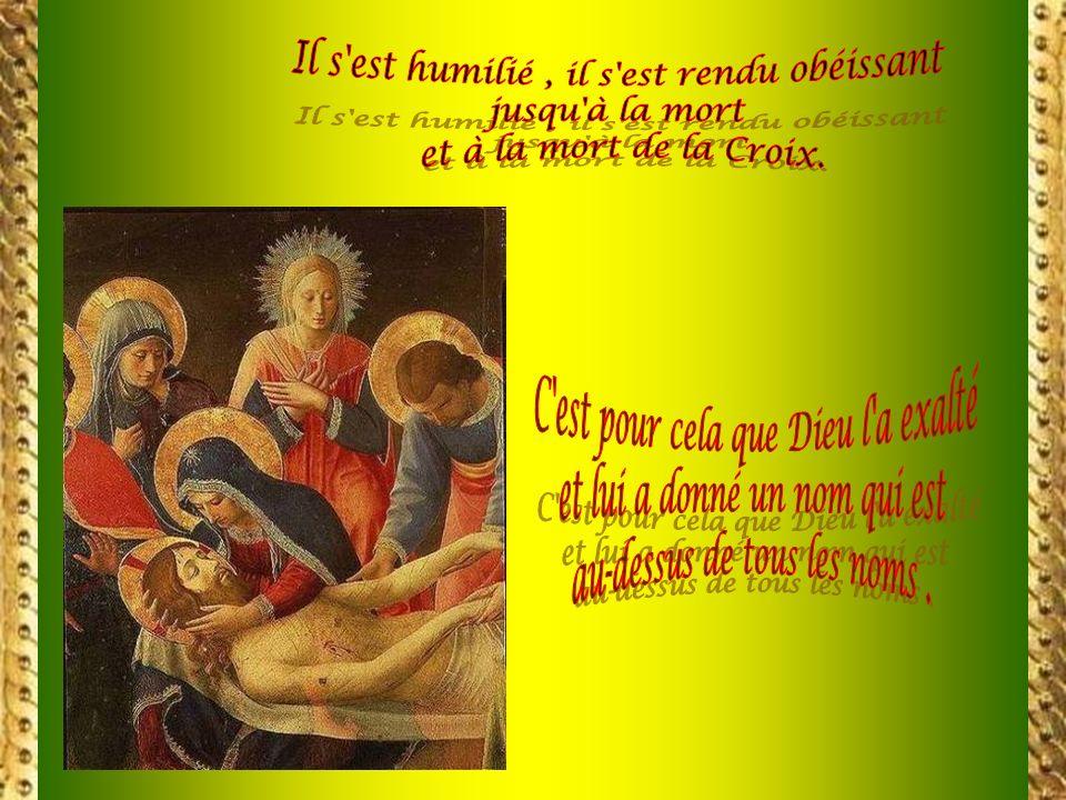 LÉglise fixe un regard damour et de reconnaissance sur cette croix où son Sauveur fut cloué : elle est devenue son trésor. Disciples de JÉSUS et fils