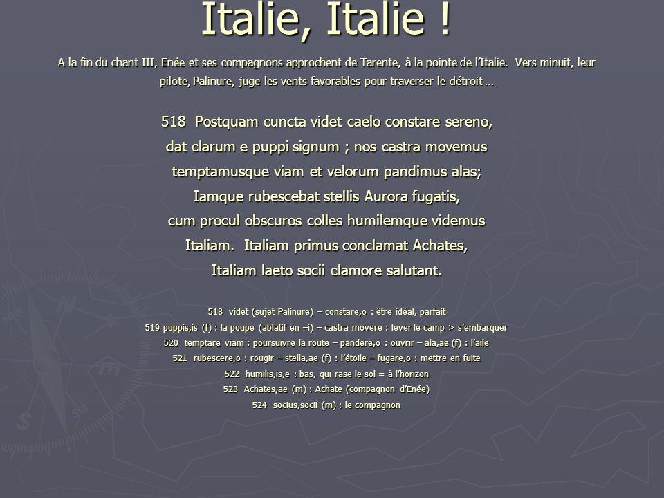 Italie, Italie .
