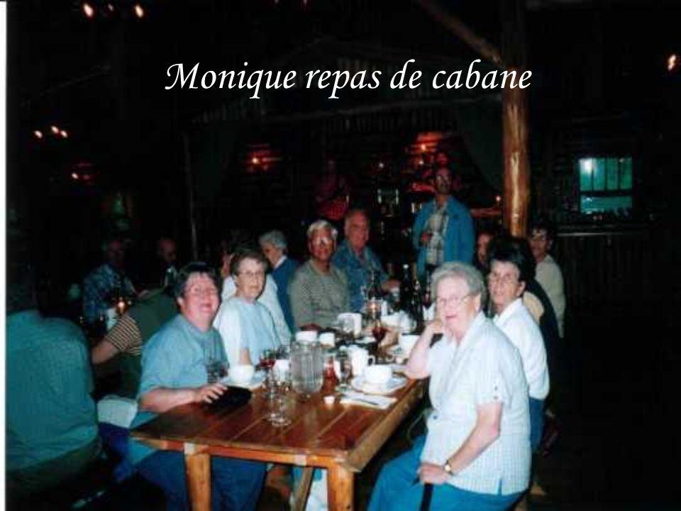 Monique repas de cabane