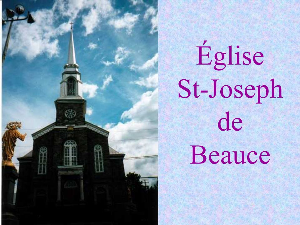 Église St-Joseph de Beauce