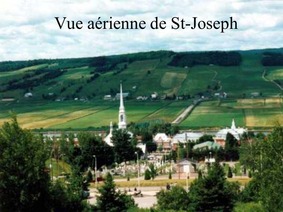 Vue aérienne de St-Joseph